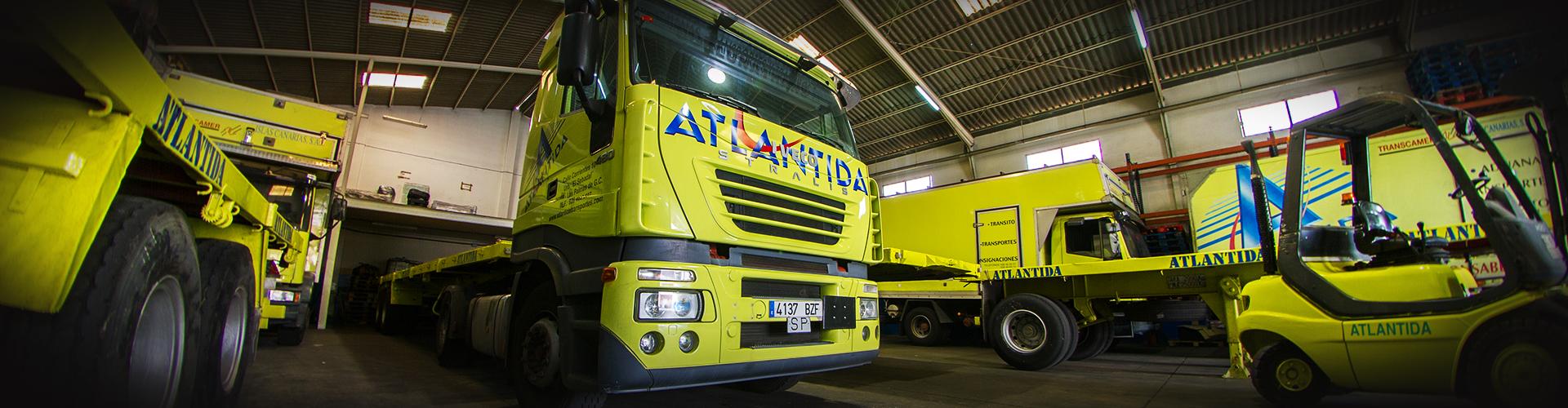 Amplia flota de vehículos en Canarias